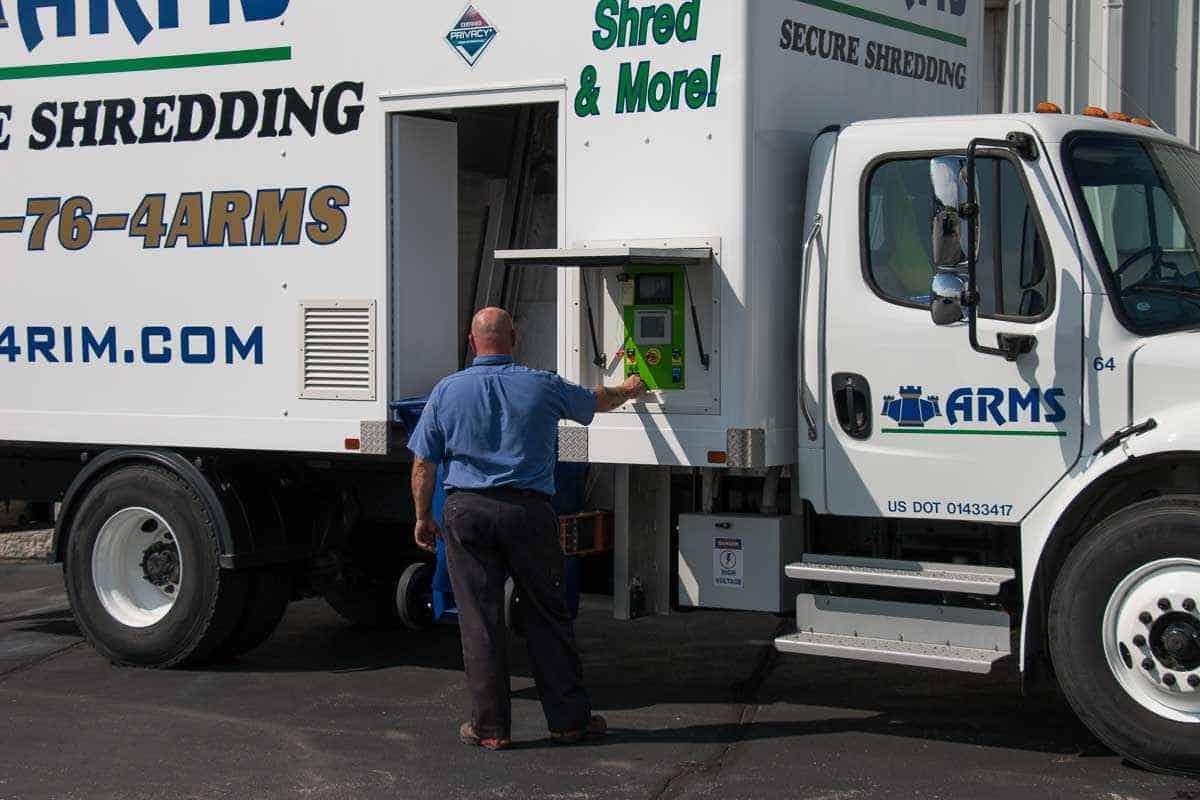 ARMS Inc. Offers Comprehensive Shredding Service
