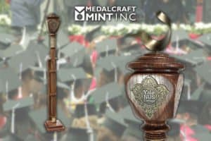 ceremonial maces from Medalcraft Mint