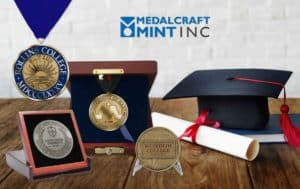 Read more about the article Custom graduation medals outshine generic awards