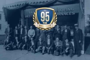 Badger Sheet Metal Works 95th anniversary
