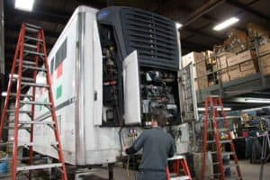 Wisconsin carriers rely on DeCleene Truck Refrigeration & Trailer Sales