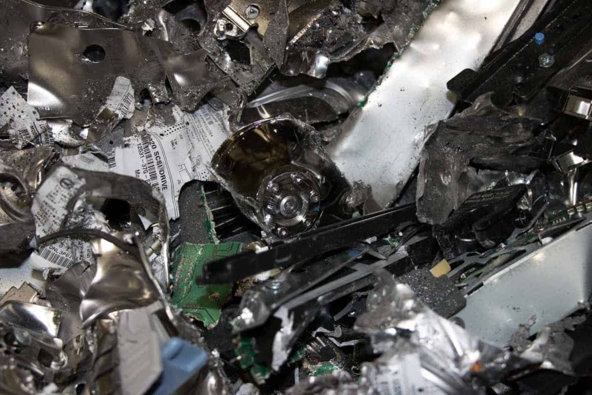 Hard drive destruction requires more than merely erasing the data