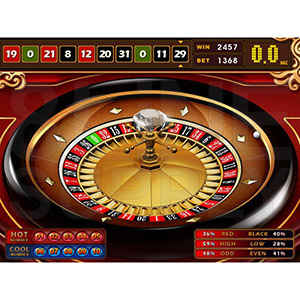 Royal Club Roulette brings the fun of roulette to a virtual game