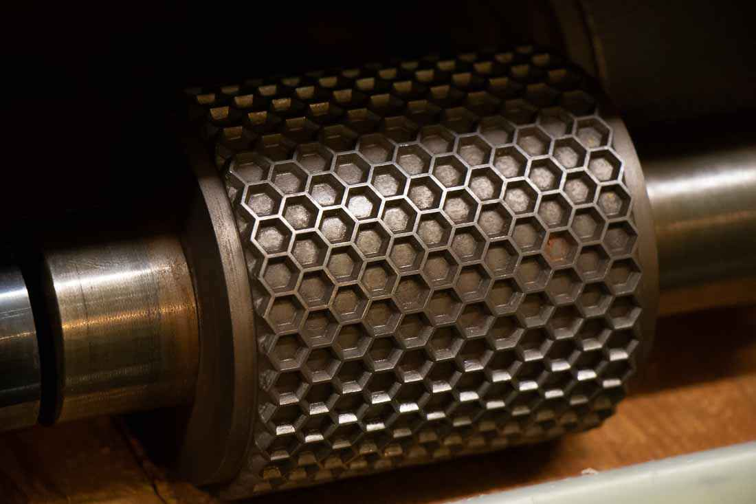 Industrial Engraving is an embossing pattern specialist