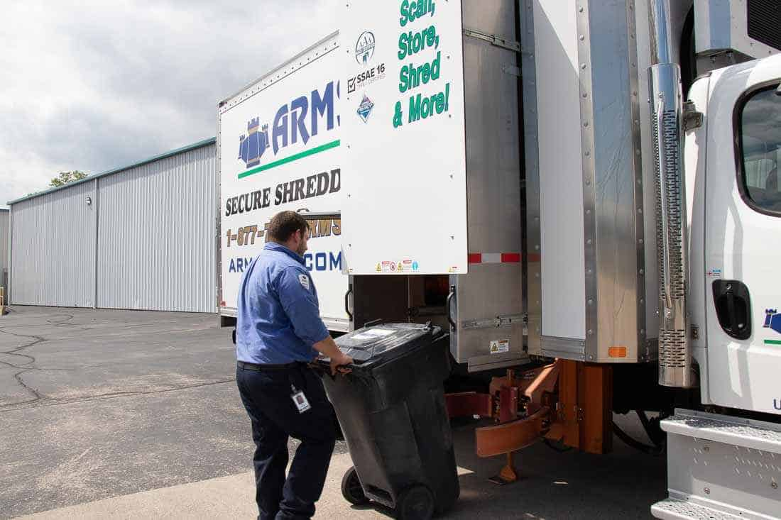 Paper shredding still plays an important role in records security
