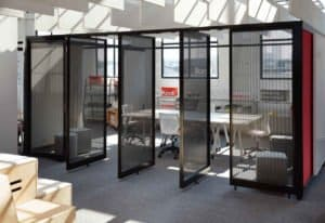 Conference room systems provide privacy and connection