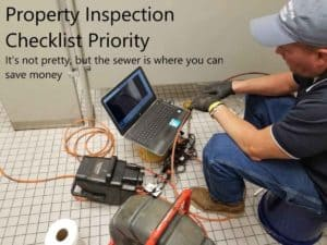 Property inspection checklist priority