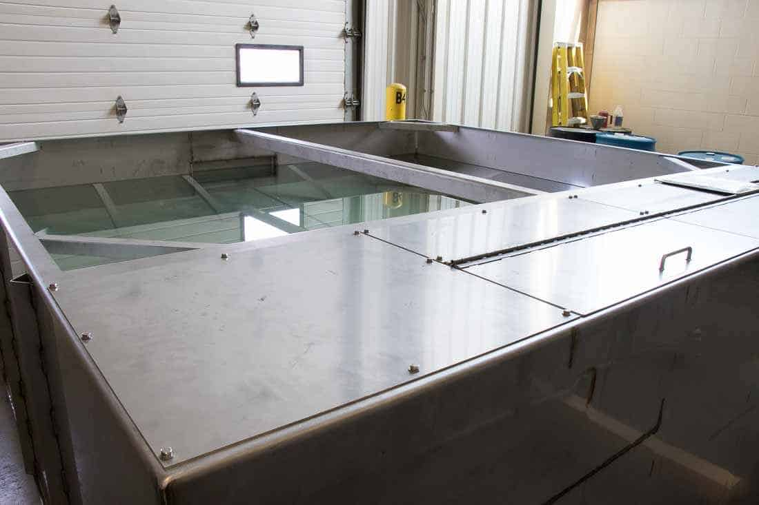 Custom water treatment tanks require agile manufacturing processes
