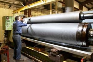 Consumer products companies rely on embossing roll manufacturers