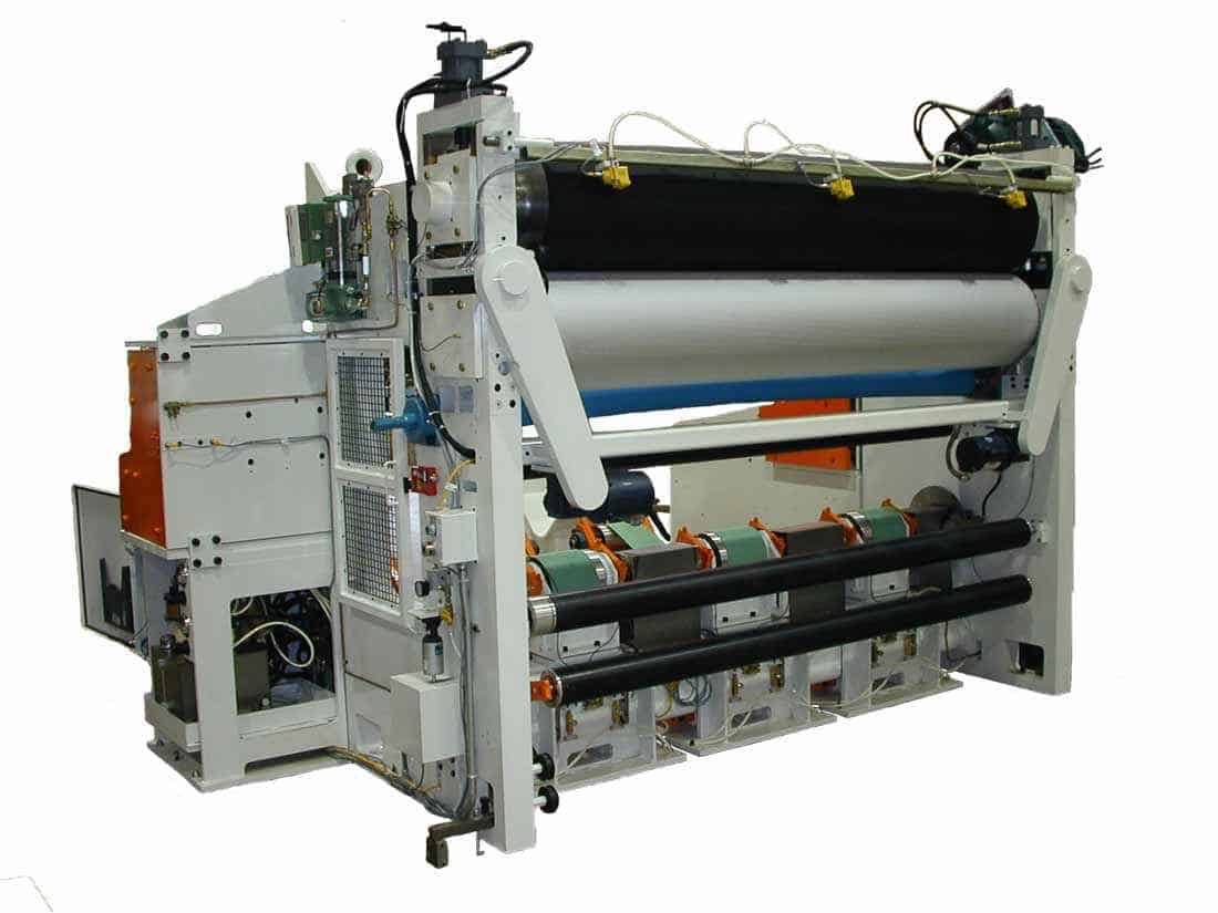 Industrial Engraving designs customized calendering equipment