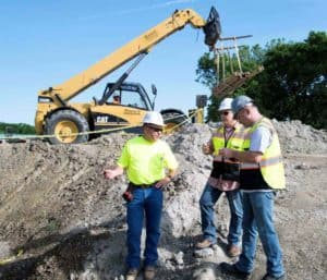 Construction site manager is key role