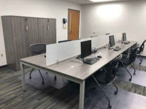 A fresh look at open office furniture systems