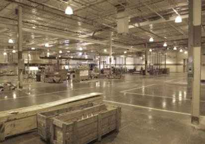 Reducing utility costs in industrial construction