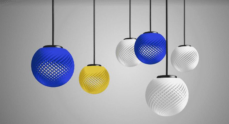 3D printed interior tenant construction materials