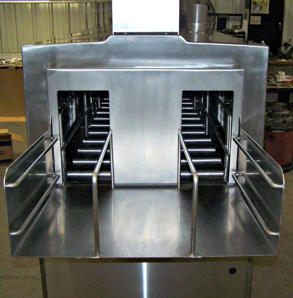 Custom stainless steel fabrication benefits food-grade projects