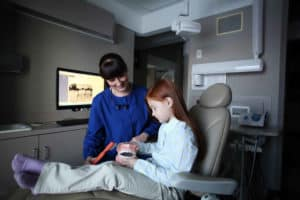 Dental hygiene for kids begins with teaching them at a young age