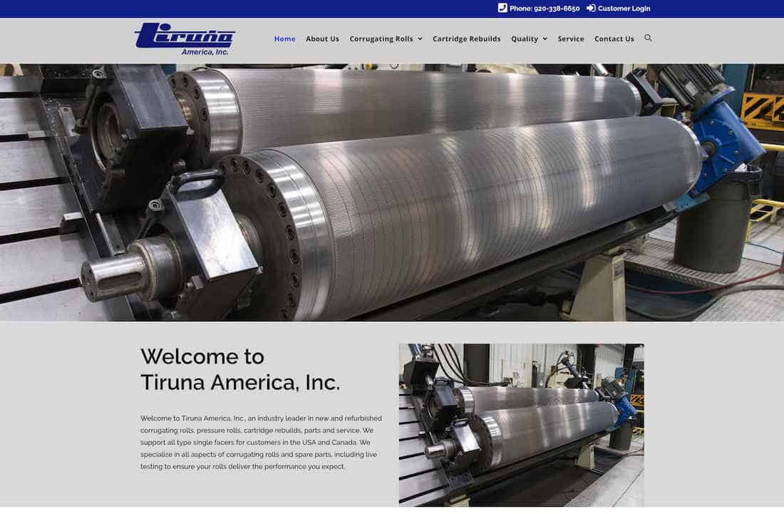 Tiruna America launches updated website