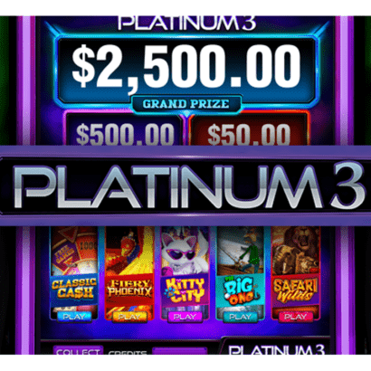 Diamond Skill Games Platinum 3 features 5-in-1 multi-game fun