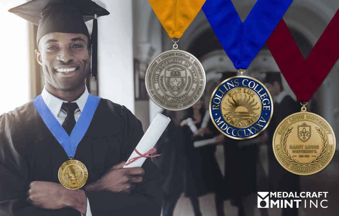 Custom college graduation medals help institutions up their game