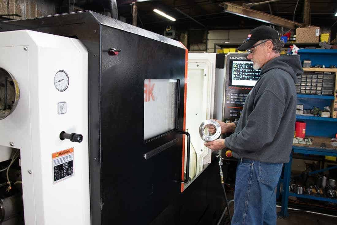 Titletown Manufacturing boosts ability for machining small parts