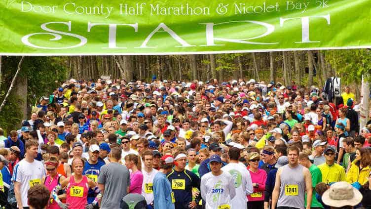Book your Door County Half Marathon 2019 lodging