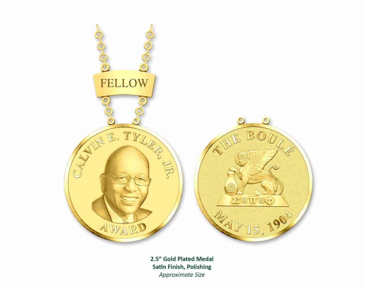 The challenge: Create a facial likeness on a donor medallion