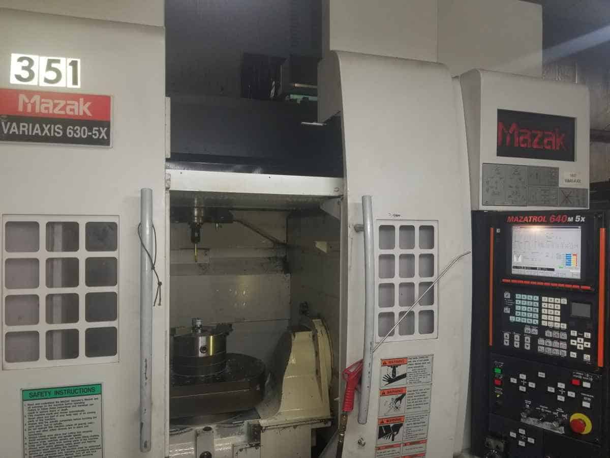 Mazak 5-axis machine produces consistently higher quality parts