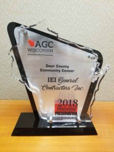 IEI General Contractors earns 2nd Historical Preservation Award