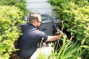 central air conditioner installation
