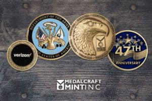 Custom brass coins are a cost-effective way to build team pride