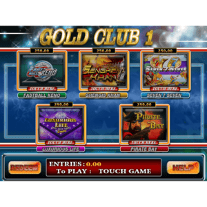 8 Line Supply Gold Club 1 Multi Game by Trestle – Dual Screen