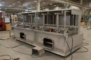 Industrial dryer manufacturing requires large-scale capabilities