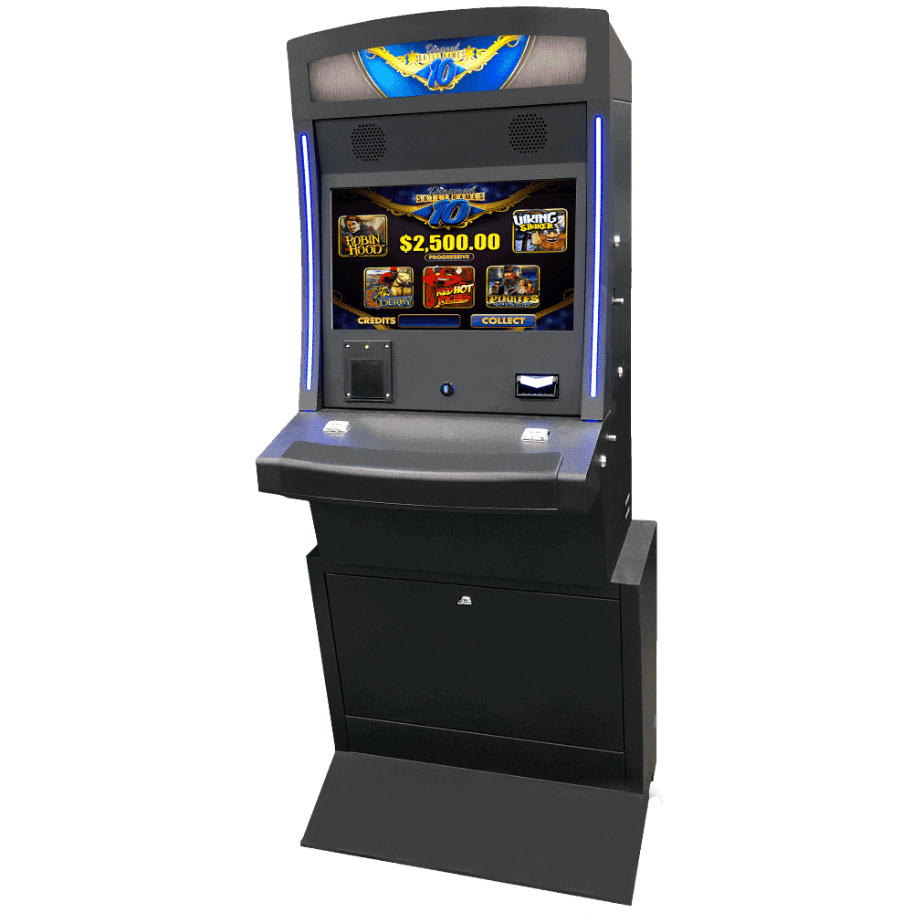 Upright gaming machine is a perfect fit for premium metal cabinet