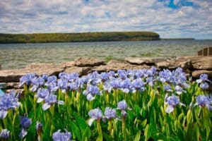 Enjoy Door County beaches while staying in Ephraim WI lodging