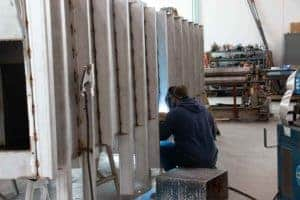 Badger Sheet Metal Works tank fabrication
