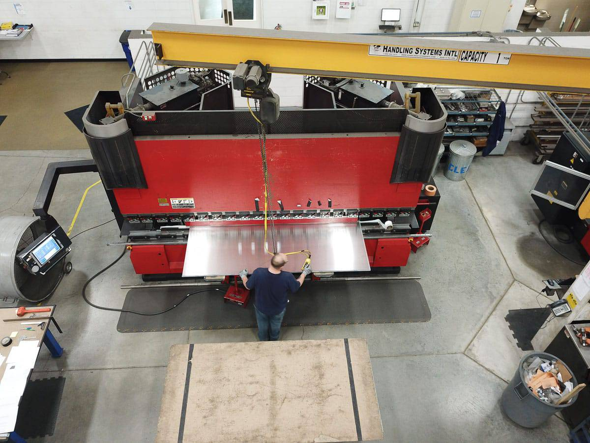 Precision sheet metal fabrication stems from elite capabilities