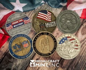 Custom memorial coins bring unique look to a special occasion