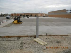 Commercial concrete work in Green Bay ranges from small to large