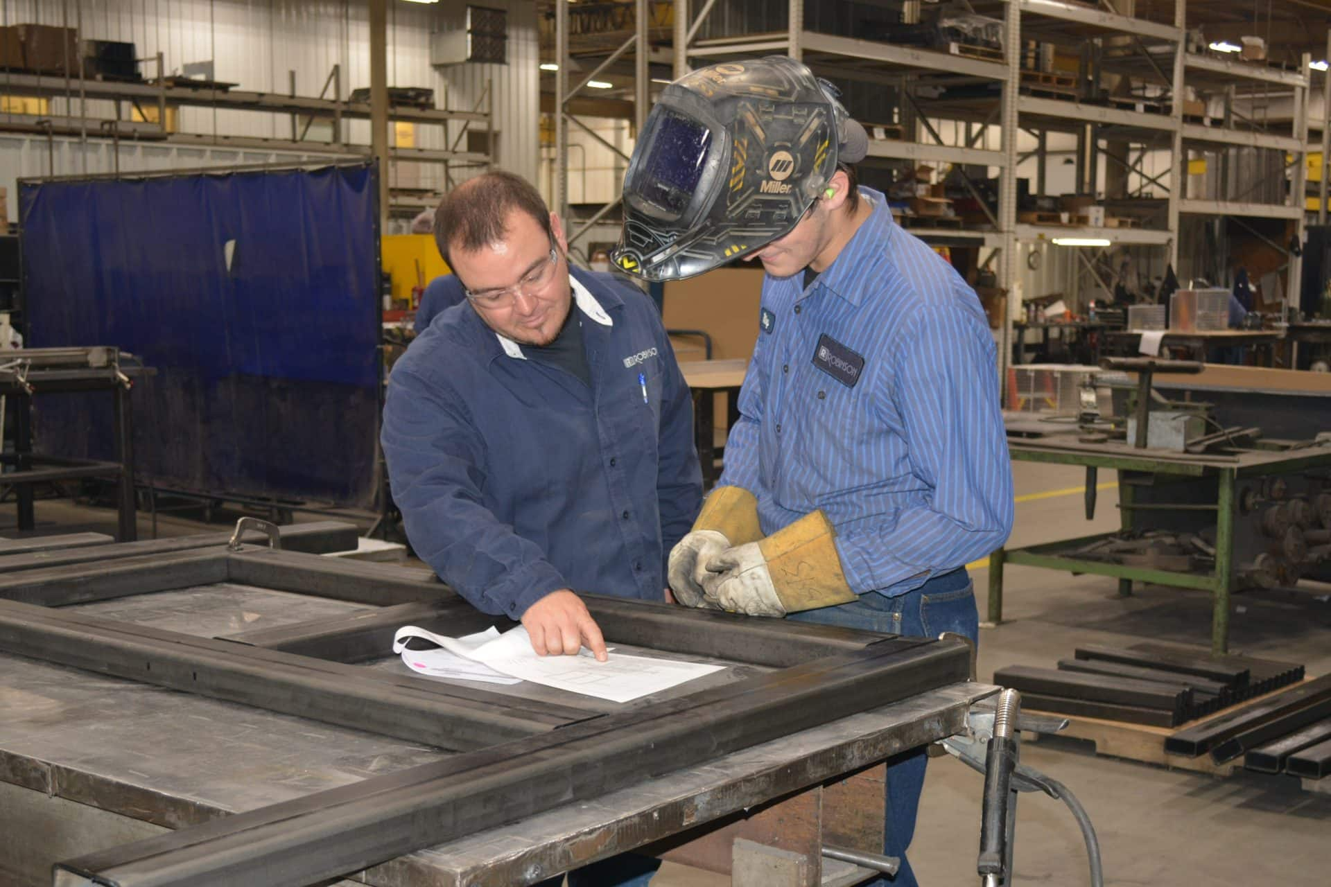 Robinson Metal, Inc., continues to expand as a metal fabricator