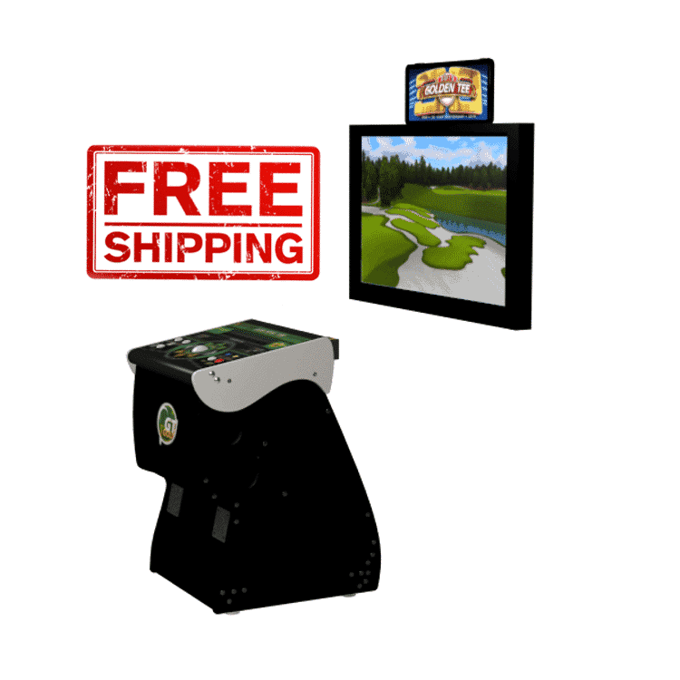 Golden Tee 2020 Home Edition is available soon from 8 Line Supply