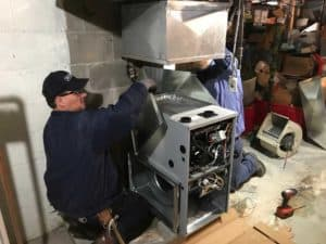 Robinson Heating & Cooling Furnace replacement