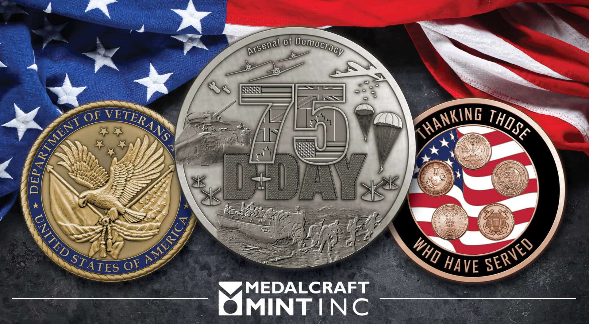 Veteran challenge coins provide tangible connections