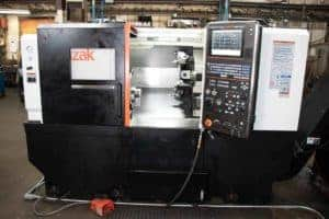 A lathe with live tooling functions benefits customers