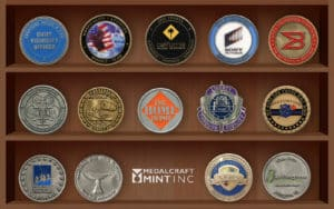 Let Medalcraft Mint design a challenge coin for your organization