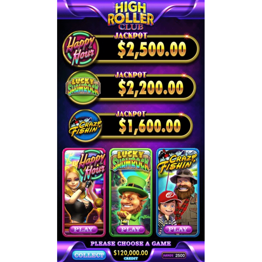 High Roller Club by IGS keeps a variety of customers returning