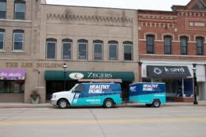 Healthy Home Green Bay area heating and cooling