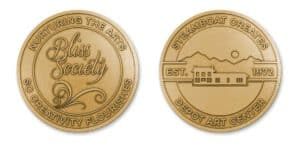 The challenge: Creating a custom challenge coin worthy of the donor group