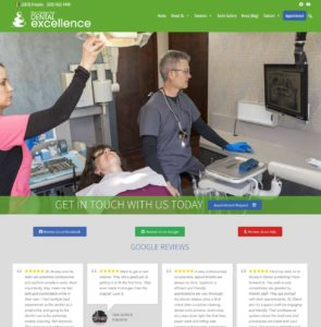 The Center for Dental Excellence highlights health in updated website