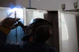 Dedicated stainless steel room enhances welding shops' TIG results