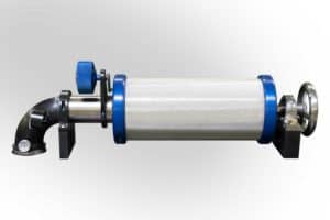 Vacuum tension rolls provide a single-side contact option for coated webs
